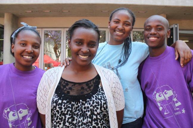 14. Yvonne Motsoko%2c ex- élève du programme devenue ingénieur et %2c mentor depuis quatre ans