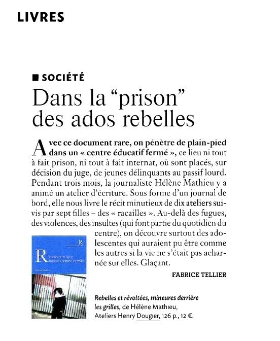 Rebelles - Clés